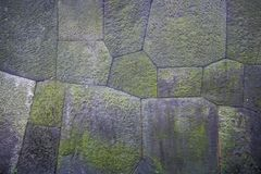 The stone wall texture surface detail image close up Royalty Free Stock Image