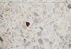 Stone wall texture, Terrazzo Floor background Stock Photo