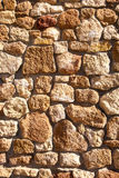 Stone wall. Texture in vertical orientation Royalty Free Stock Image