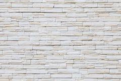 Stone wall texture. White stone wall texture design Royalty Free Stock Photos