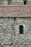 Stone Wall Texture and Windows Royalty Free Stock Photo