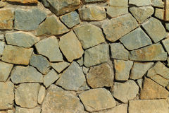 Stone wall textured Stock Images