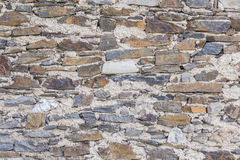 Stone wall textured and background Stock Photo