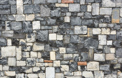 Stone wall textures Royalty Free Stock Image