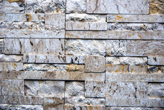 Stone wall from thailand contry Stock Photos