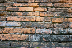 Stone wall from thailand contry Stock Photo