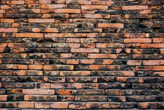 Stone wall from thailand contry Royalty Free Stock Image