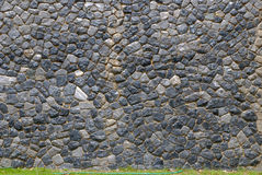 Stone wall in Thailand Stock Image