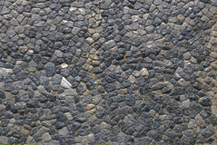 Stone wall in Thailand Royalty Free Stock Image