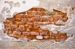 Stone wall of Tuscany royalty free stock photo