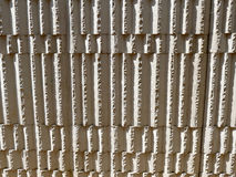Stone wall vertical closeup Stock Image