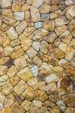Stone wall at view point kho samui suratthani,thailand Royalty Free Stock Photos