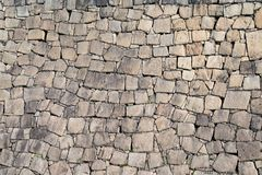 Stone wall for wallpaper and background, from Osaka castle stone wall Japan royalty free stock image