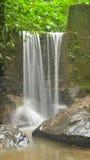 Stone wall waterfall Stock Photos