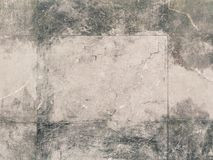 Stone wall with white traces royalty free stock images
