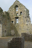 Stone wall and windows, Hore Abbey, Cashel, Co Tipperary Royalty Free Stock Photo