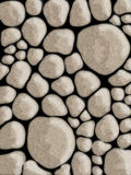 Stone walls abstract background Stock Images
