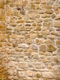 Stone walls. An ancient stone walls made by hand from an Italian church Stock Photography
