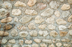 Stone walls background Royalty Free Stock Images