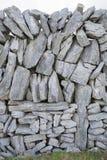 Stone Walls on Inishmore; Aran Islands Stock Image