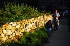Stone Walls, New York City Stock Image