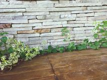 Stone walls. Decoration stock image