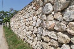 Stone walls Stock Photos