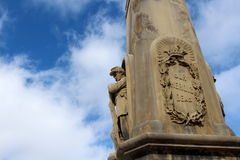 War monument of soldier Royalty Free Stock Photography