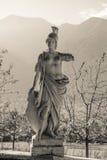 Stone warrior statue Stock Photo