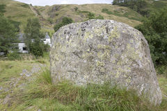 Stone at Watendlath; Lake District Royalty Free Stock Photography