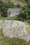Stone at Watendlath; Lake District Stock Photos