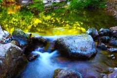 Stone & water Royalty Free Stock Photography