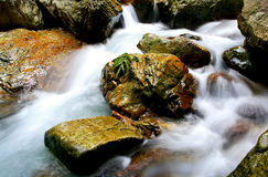 Stone & water Royalty Free Stock Images