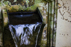 Stone water fountain Royalty Free Stock Images