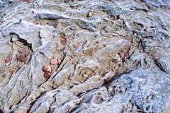 Stone wavy texture Royalty Free Stock Image
