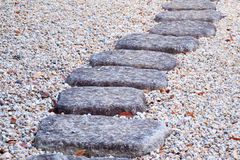 Stone way Royalty Free Stock Photo