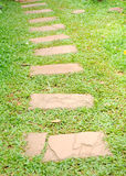 Stone way Royalty Free Stock Image