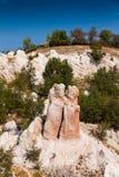 Stone wedding. Nature phenomenon Stone wedding in Rodopi mountain, Bulgaria Royalty Free Stock Photo