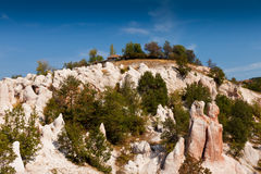 Stone wedding. Nature phenomenon Stone wedding in Rodopi mountain, Bulgaria Stock Images