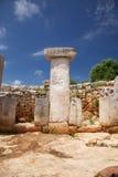 Stone white taula Royalty Free Stock Image