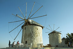 Stone Windmill Stock Photo