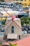 Stone Windmill on St Thomas Royalty Free Stock Photos