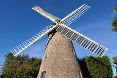Stone windmill Stock Photography