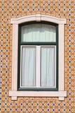 Stone window Stock Image