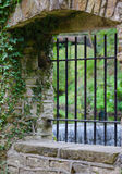 Stone Arched Window Stock Image