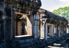 Stone Windows of Baphuon temple Stock Images