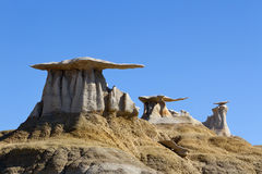 Stone Wings, Bisti Wilderness Stock Image