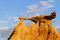 Stone Wings, Bisti Wilderness Stock Photo
