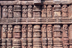 Stone Work at Konark Royalty Free Stock Images