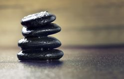 stone zen Fotografia Royalty Free